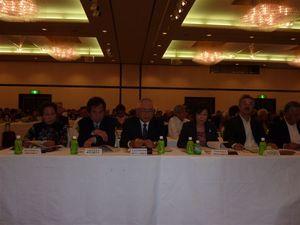 特別代議員として出席した新規加盟単会の代表